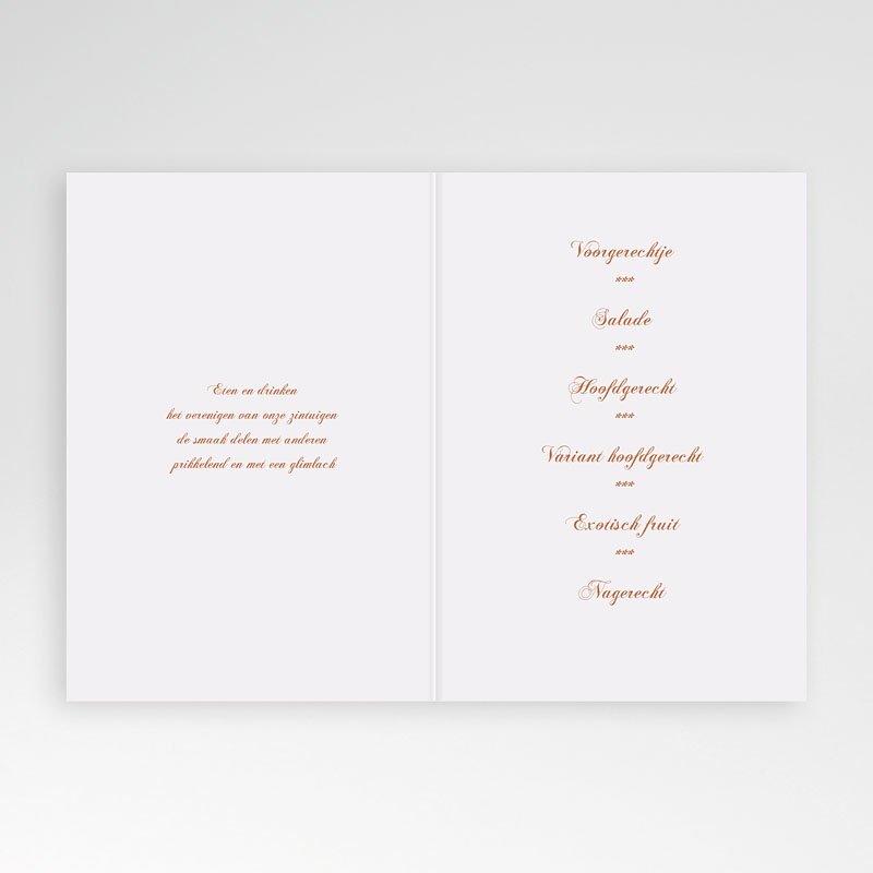 Personaliseerbare menukaarten huwelijk - Pastelliefde 13219 thumb