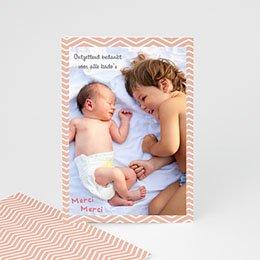 Bedankkaartje geboorte zoon - Grote broer - 1