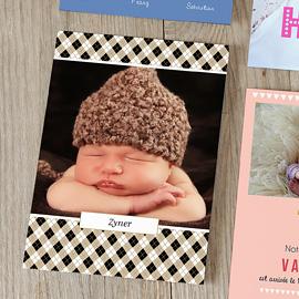 unieke geboortekaartjes