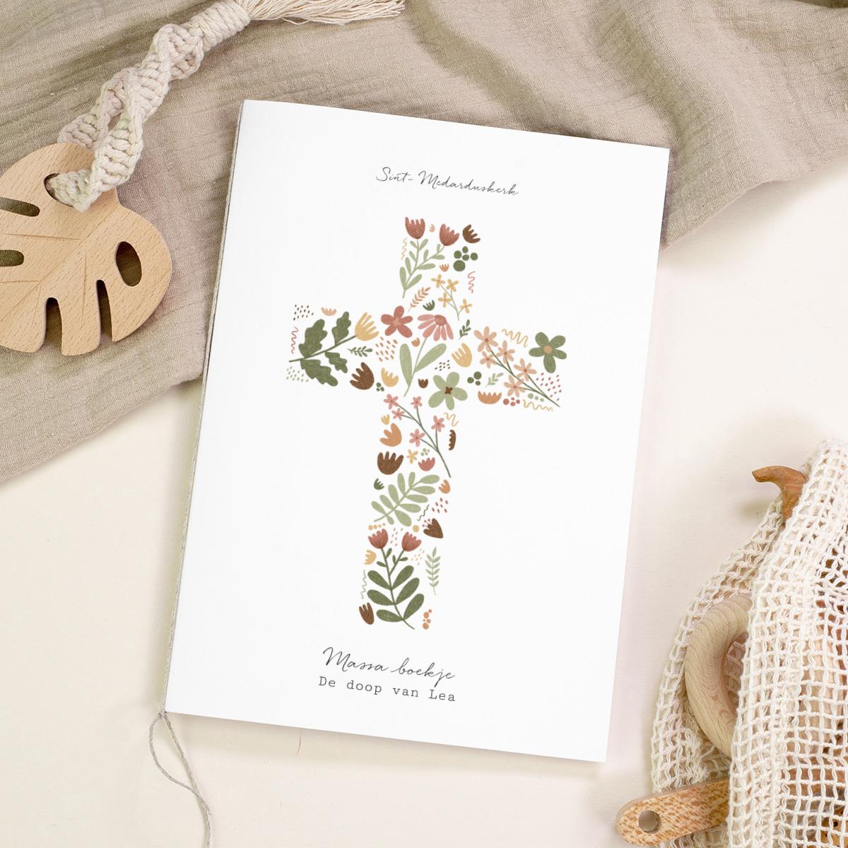 Boekomslag voor doopboekjes