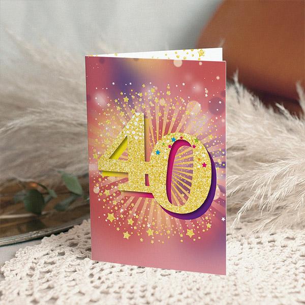 Verjaardagskaarten volwassenen