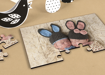 Personaliseerbare puzzel