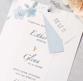 Chique trouwkaarten