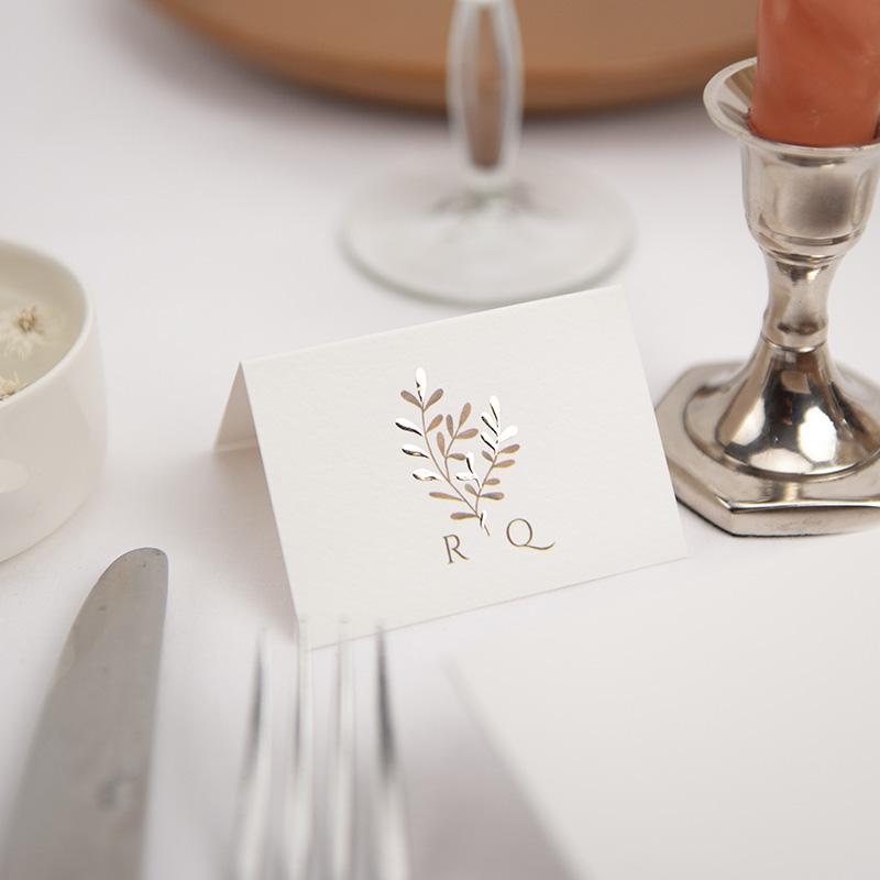 Tafelkaartjes huwelijk
