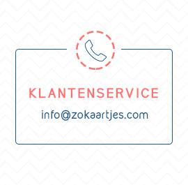 klantenservice zokaartjes