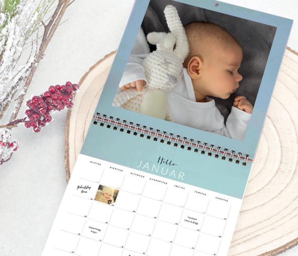 Personaliseerbare kalenders 2019