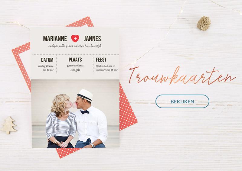 Exclusieve trouwkaarten