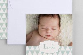 Bedankkaarten geboorte