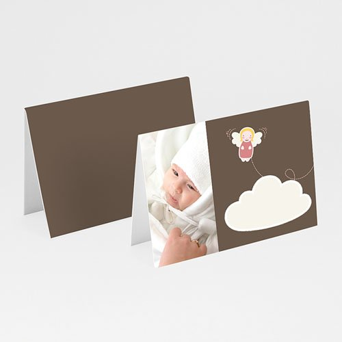 Plaatskaartjes doopviering - Doopsel meisje 10053 thumb