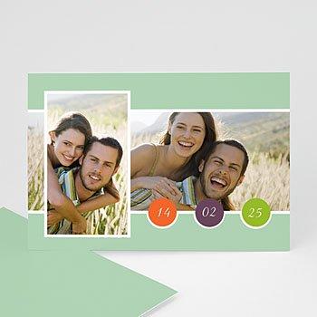 Fotokaarten met 2 foto's - Multifoto modern 2 foto's - 1