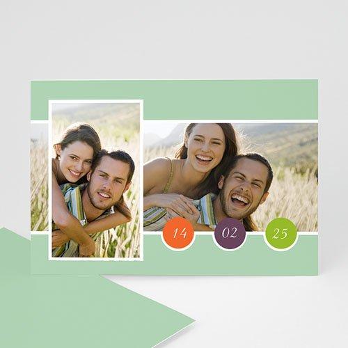 Fotokaarten met 2 foto's - Multifoto modern 2 foto's 10115 thumb