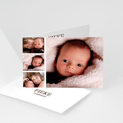 Multi fotokaarten, meerdere foto's - Even voorstellen 10147 thumb
