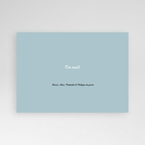 Multi fotokaarten, meerdere foto's Blauw multifoto pas cher