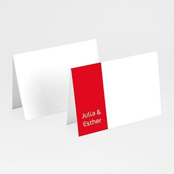 Personaliseerbare plaatskaartjes huwelijk - Open album - 1
