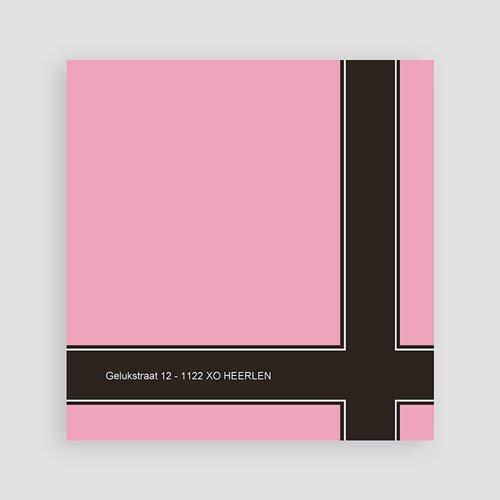 Geboortekaartje meisje - Een roze bonbon 10207 thumb