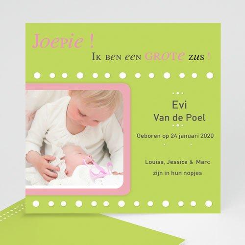 Geboortekaartje meisje - Meisjes van anijs 10214 thumb