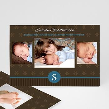 Geboortekaartje jongen - Prinselijk geschenk - 1