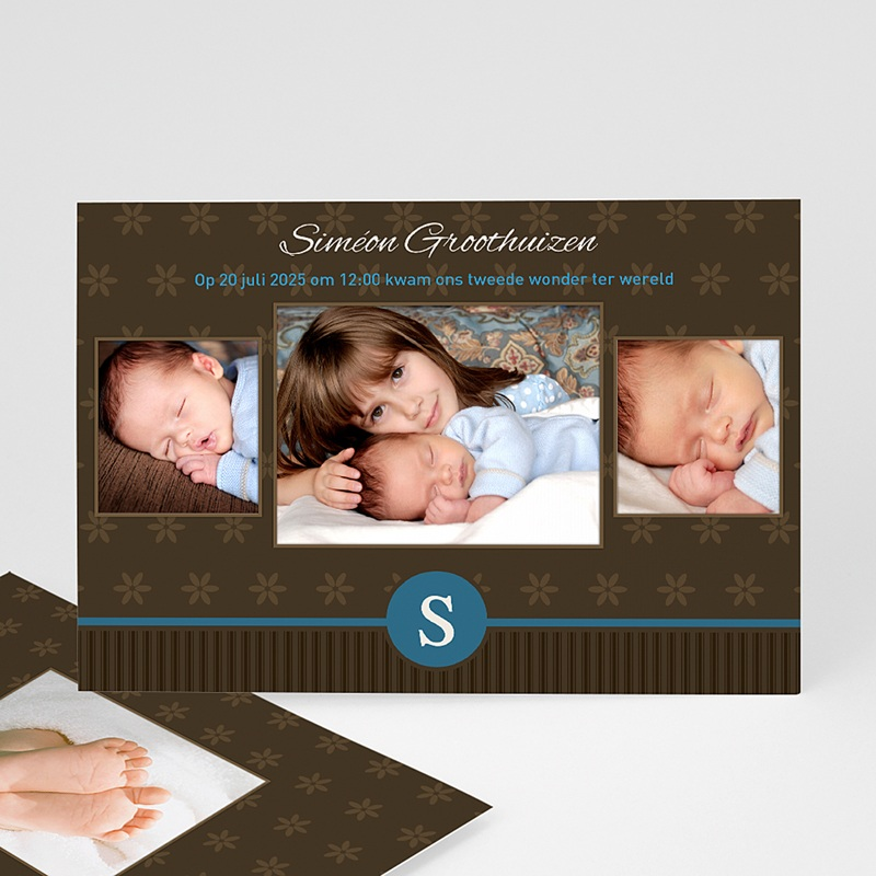 Geboortekaartjes Jongen Prinselijk geschenk