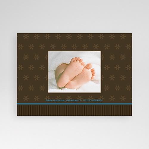 Geboortekaartje jongen Prinselijk geschenk pas cher