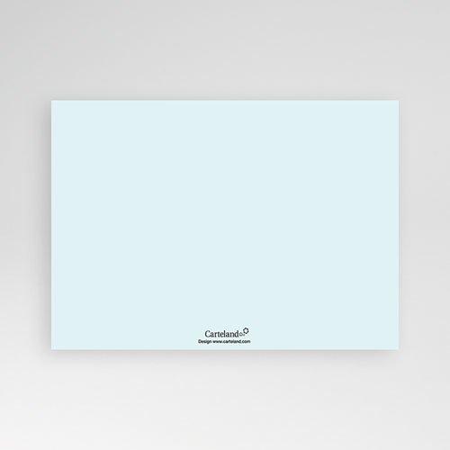 Geboortekaartje jongen - Zacht grijs blauw 10277 thumb