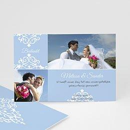 Bedankkaartjes huwelijk - Nieuwe kasteelheer - 1
