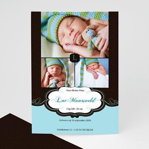 Geboortekaartje jongen - Onze bonbon, zoon 10302 thumb