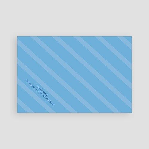 Geboortekaartje jongen - Hemelblauwe stralen 10309 thumb
