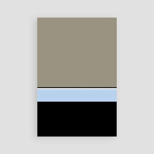 Geboortekaartje meisje - Diep mint blauw 10335 thumb