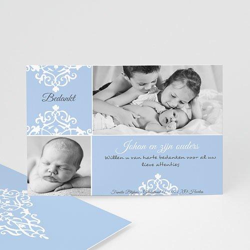 Bedankkaartje geboorte zoon - Nieuwe kasteelheer 10344 thumb