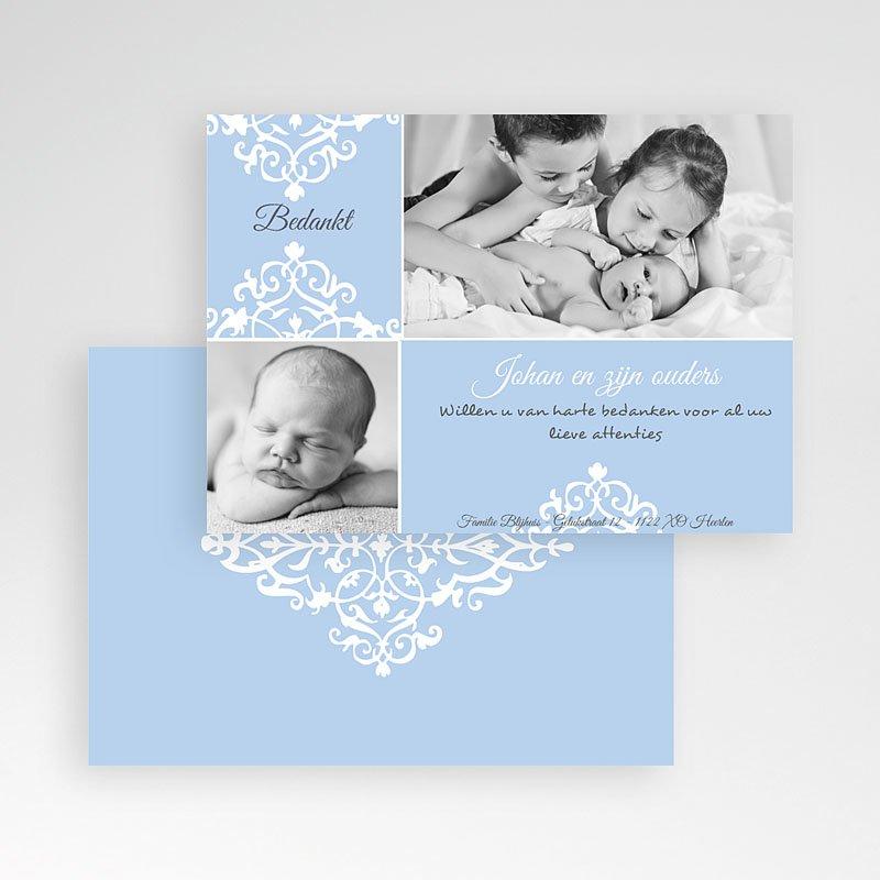 Bedankkaartje geboorte zoon - Nieuwe kasteelheer 10345 thumb