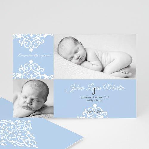Geboortekaartje jongen - Nieuwe kasteelheer 10346 thumb