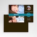 Bedankkaartje geboorte zoon - Nieuw uit de doos, blauw 10351 thumb