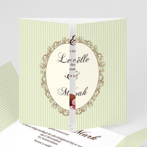 Personaliseerbare trouwkaarten - Eeuwig zoet 10358 thumb