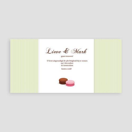 Personaliseerbare trouwkaarten - Eeuwig zoet 10359 thumb