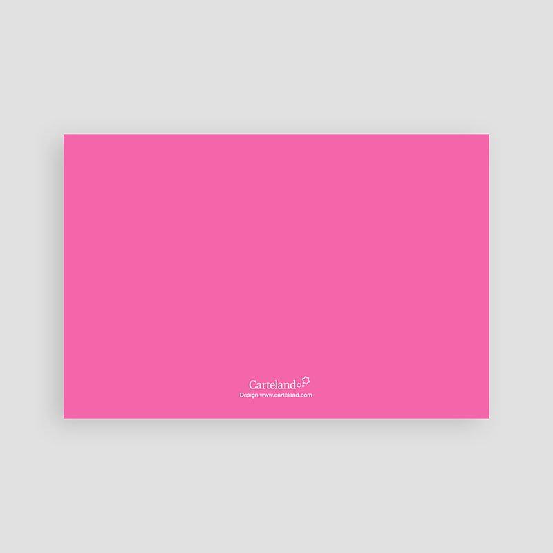 Verjaardagskaarten meisjes vrolijke uitnodiging, roze pas cher