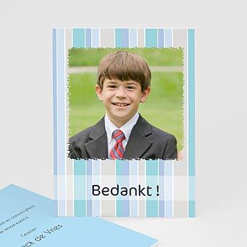 Bedankkaart communie jongen tot Hem