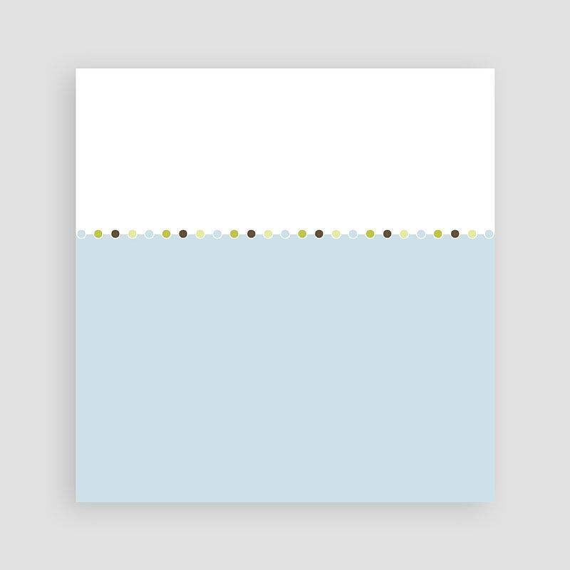 Verjaardagskaarten jongens - Eén jaar, pastelblauw 10493 thumb