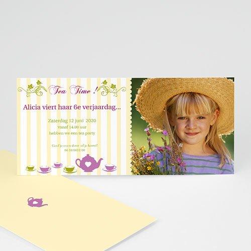 Verjaardagskaarten jongens - Kom op de thee 10510 thumb