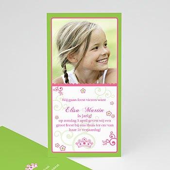 Verjaardagskaarten meisjes - Prinsesje - 1