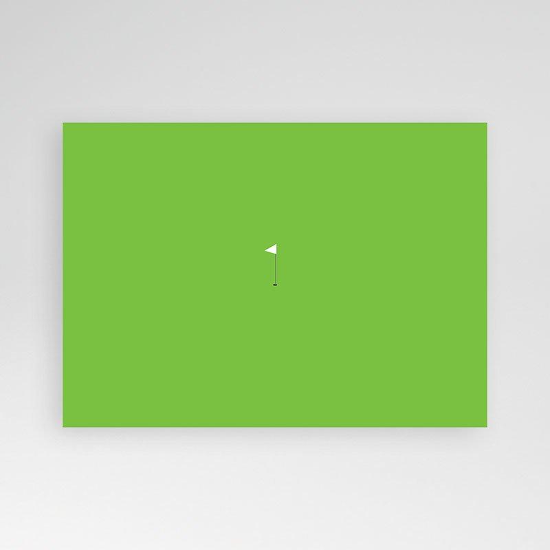 Verjaardagskaarten volwassenen - Uitnodiging vanaf de green 10519 thumb