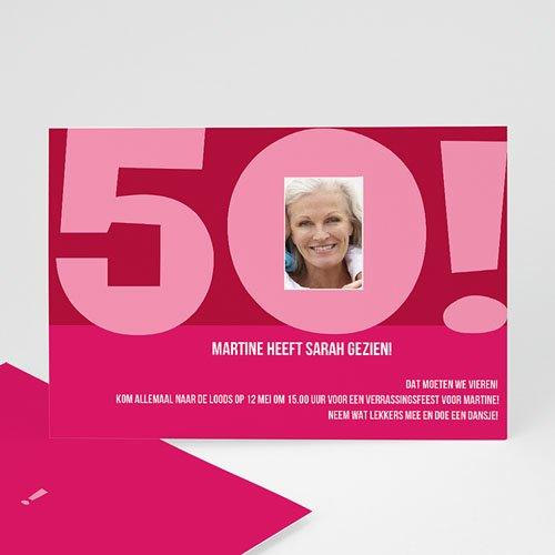 Meerderjarig Uitnodigingen Verjaardag Club 50