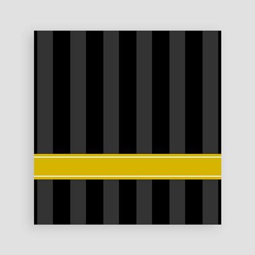 Meerderjarig Uitnodigingen Verjaardag Oldtimer stijl, geel pas cher