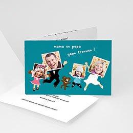 Personaliseerbare trouwkaarten - De bende - 1