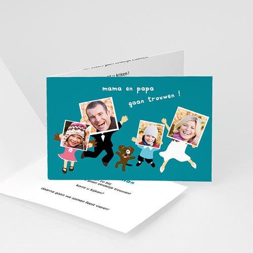 Personaliseerbare trouwkaarten - De bende 10747 thumb