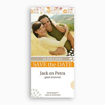 Save the date kaartjes - Aan elkaar - 1