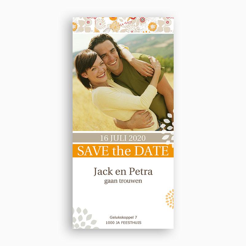 Save The Date Kaartjes Bruiloft Aan elkaar