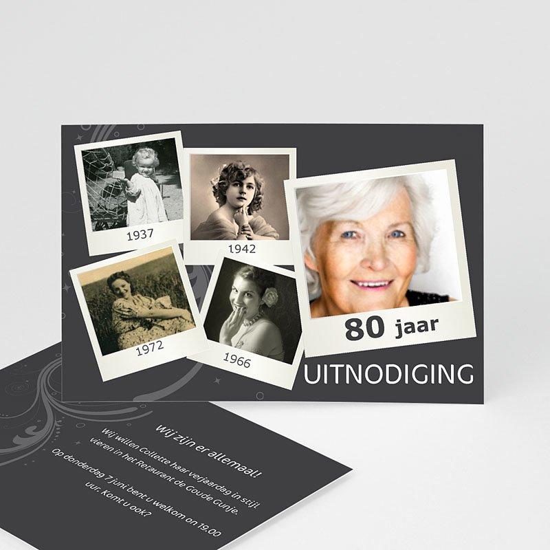 Verjaardagskaarten volwassenen - Polaroids van toen en nu 10807 thumb