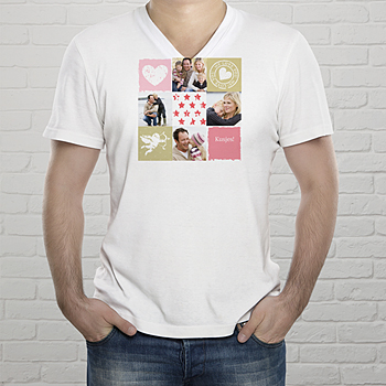 T-shirt met foto Fotokado collage