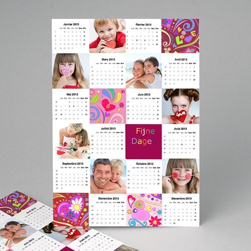 Kalender jaaroverzicht - Valentijn kalender 10851 thumb