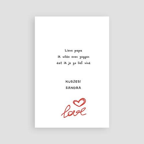 Valentijnskaarten - Valentijnskaartje grijs 10864 thumb